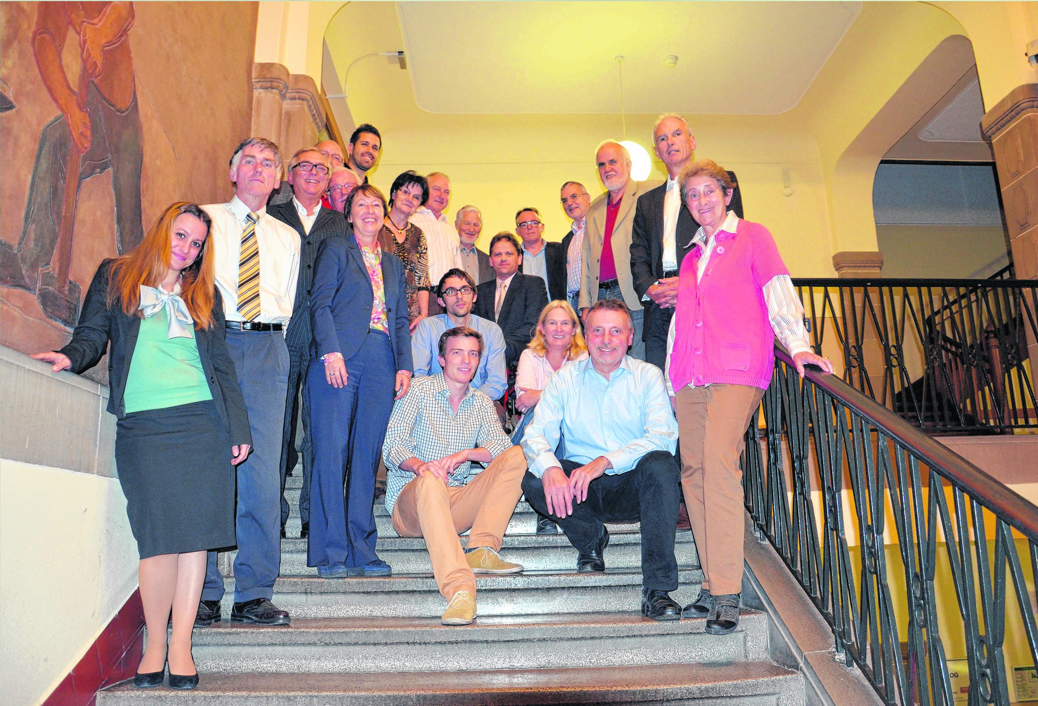 Feuerbach Neustart im Rathaus 2014