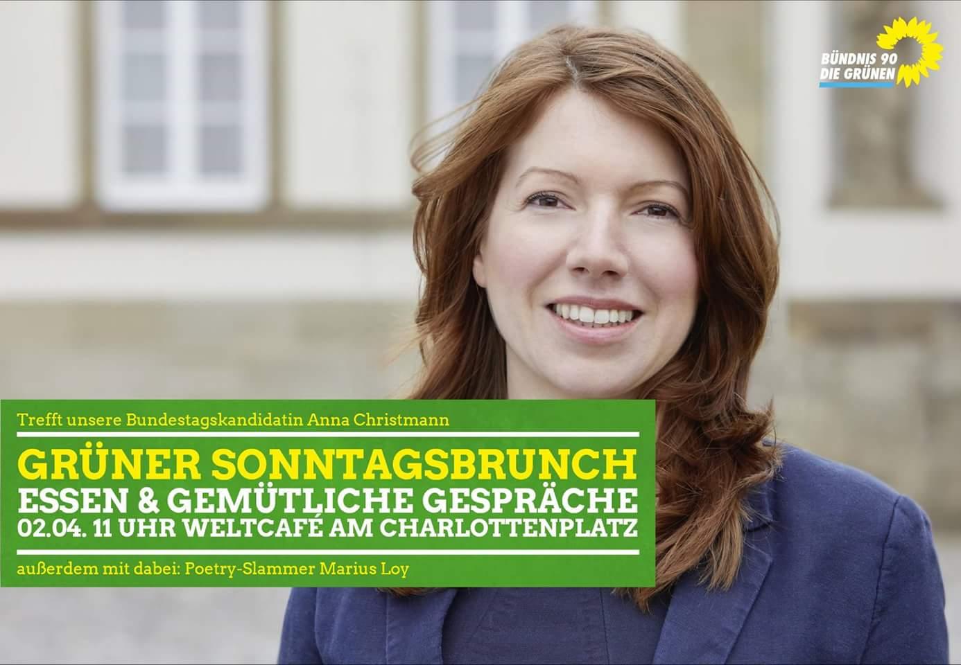 Sonntagsbrunch mit Dr. Anna Christmann