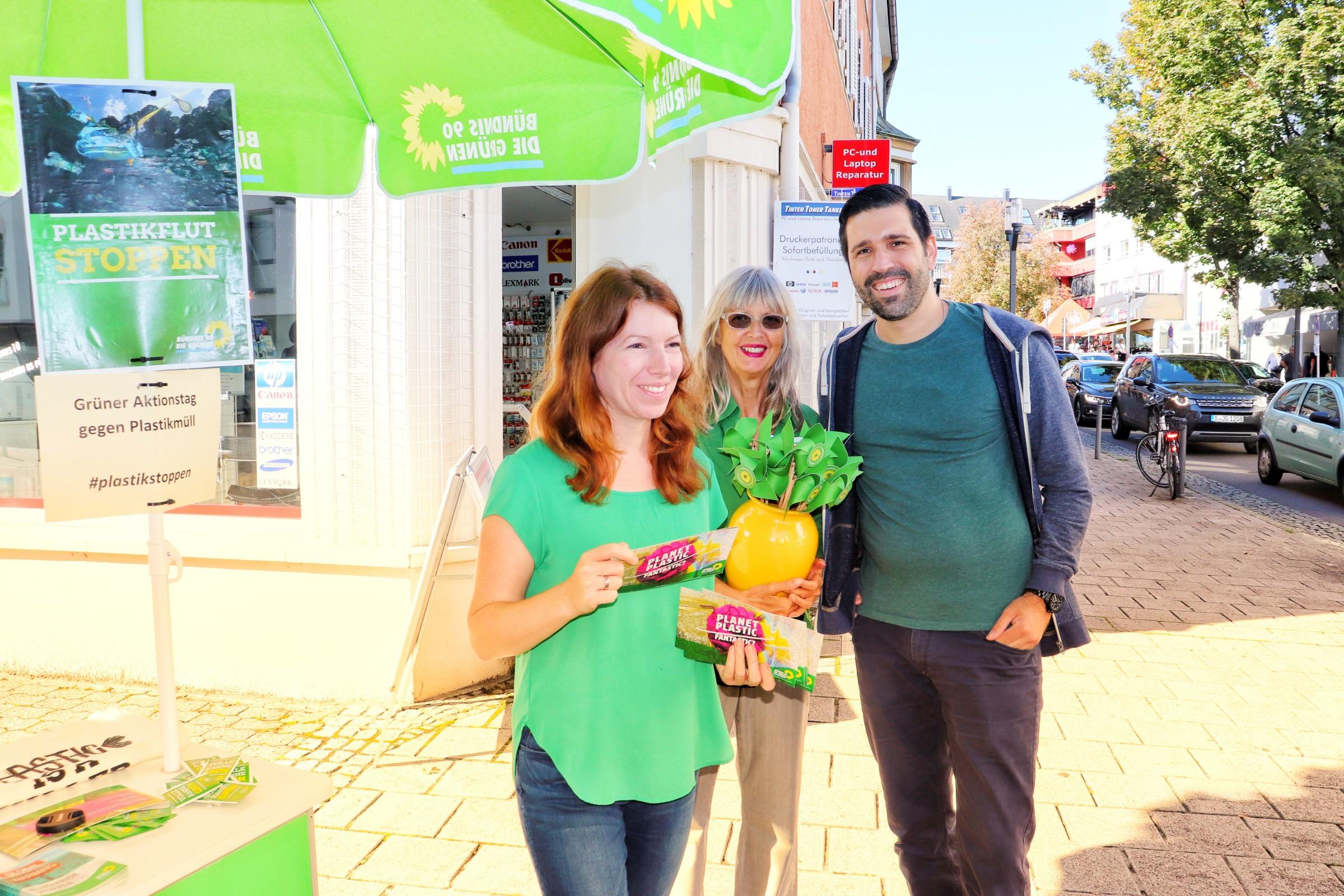 Grüner Aktionstag gegen Plastikmüll in Feuerbach