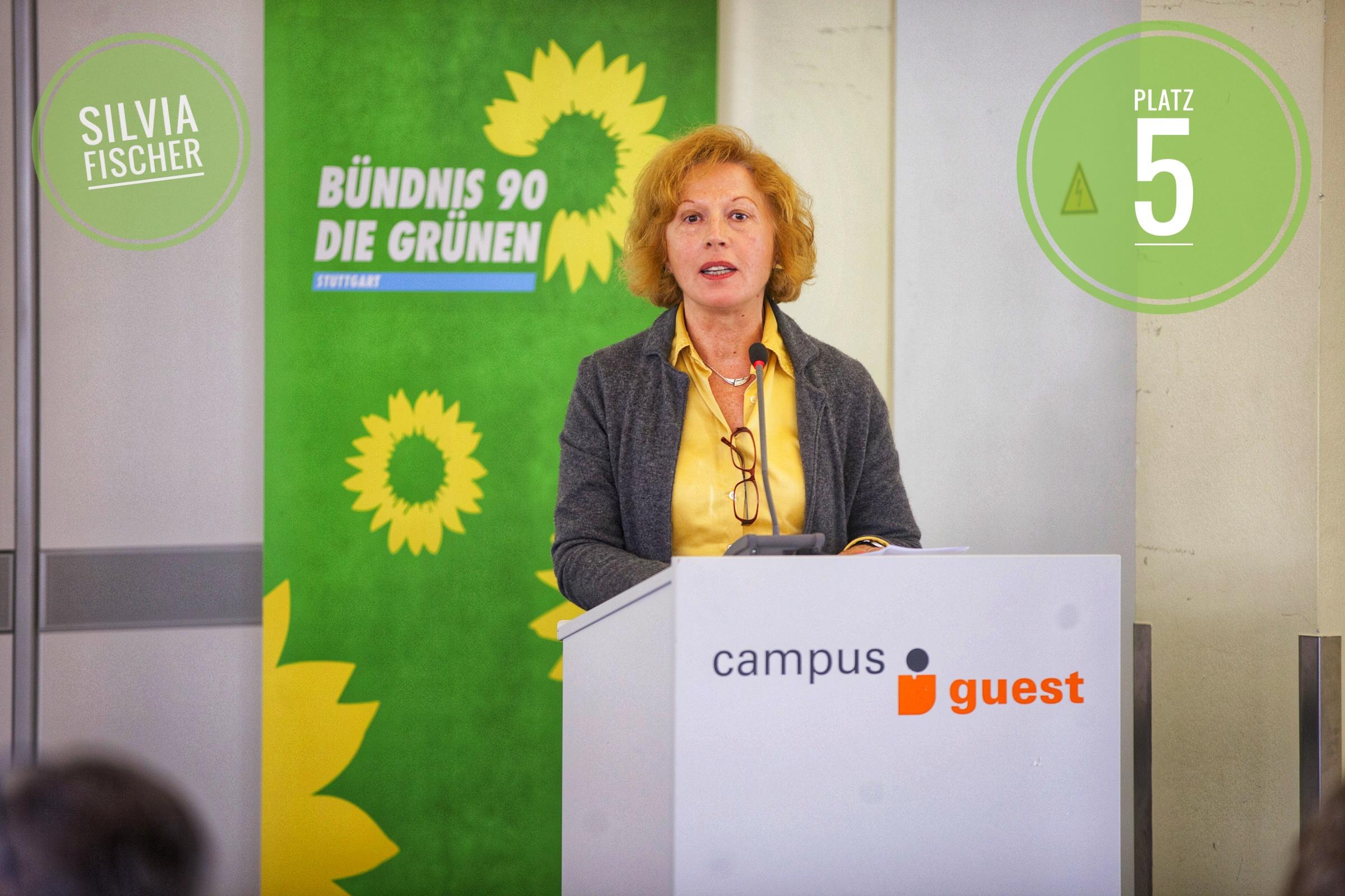 Kommunalwahl 2019 Stadtratskandidatin Silvia Fischer