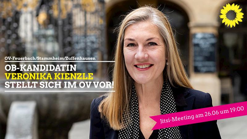 OB-Kandidatin Veronika Kienzle stellt sich im OV vor!