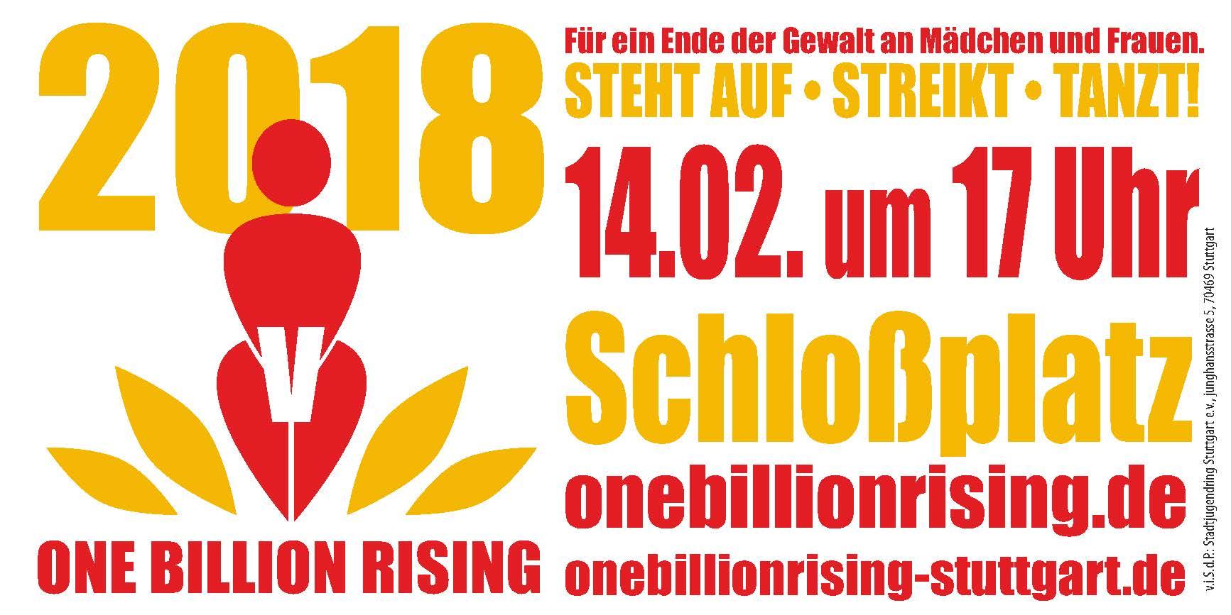 One Billion Rising in Stuttgart